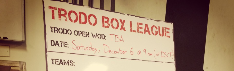 Trodo Box League 2014.12.06