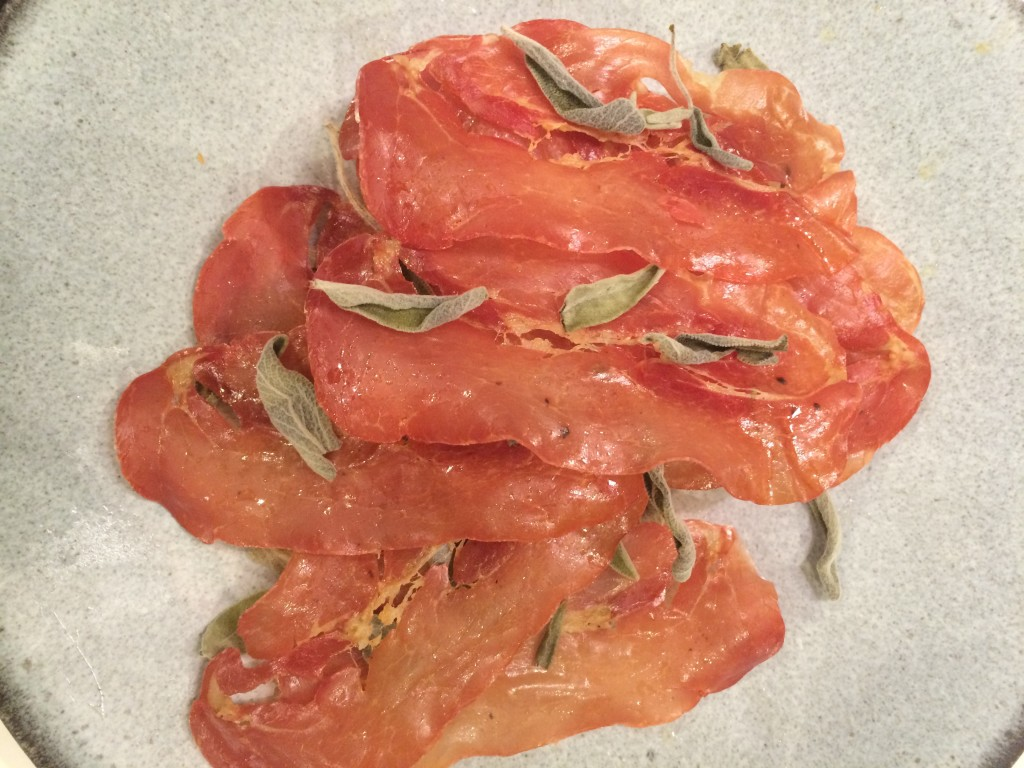 Baked Prosciutto with Sage | Division St. CrossFit | Chicago, IL ...