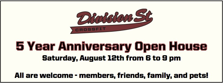 5 Year Anniversary Open House